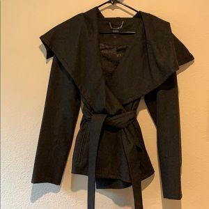 Express Wool Blend Wrap Jacket